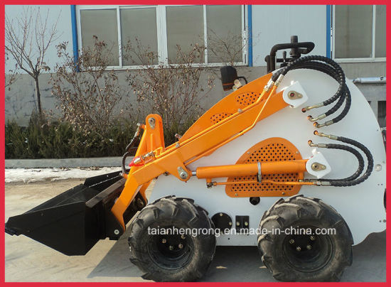 China Ce Mini Skid Steer Loader with Backhoe Attachment