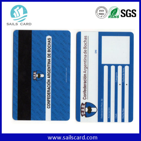 E-Payment Debit Magnetic Stripe Plastic PVC Card pictures & photos