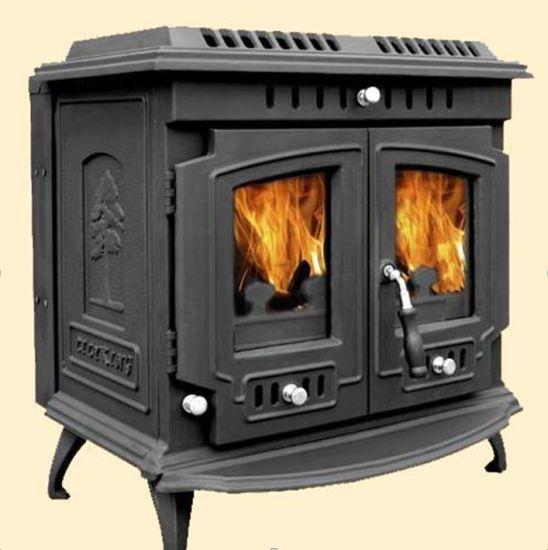 China 669 Wood Pellet Burning Fireplace, Cast Iron Fireplace Wood Burning Stove