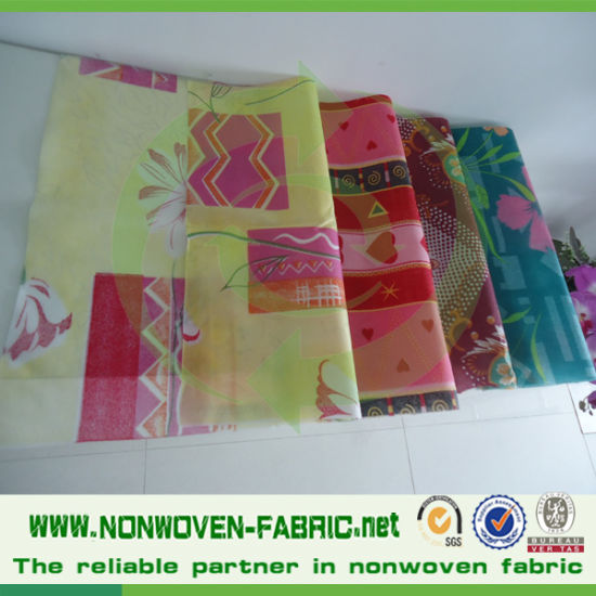 Colors and Printed Nonwoven Flower Packing Material pictures & photos