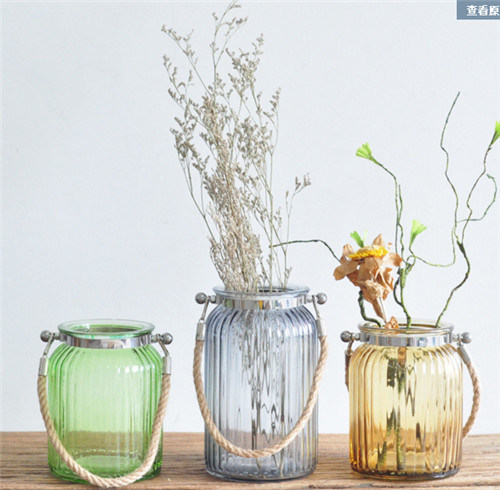 Portable Colorful Glass Vase /Home Decorative Glass Vase pictures & photos
