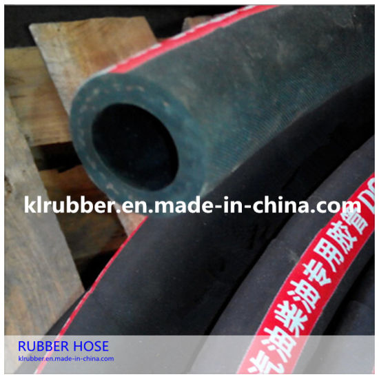 High Pressure Flexible Rubber Oxygen Hose with Hydraulic Fitting
