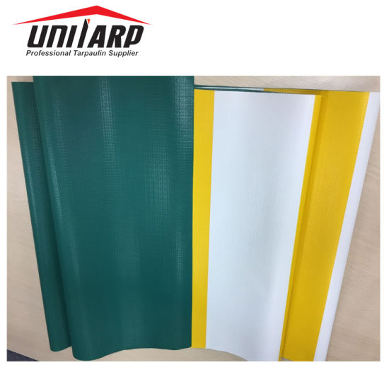 600GSM PVC Coated Canvas Leather Embossed Tarpaulin