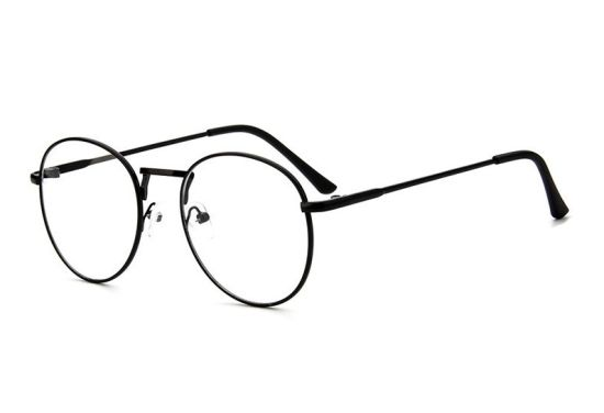 2018 New Design Cheapest Promotion Metal Ellipse Optical Glasses Frame