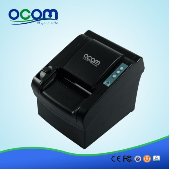 Hot Sell 80mm Thermal Receipt Printer with Manual Cutter pictures & photos
