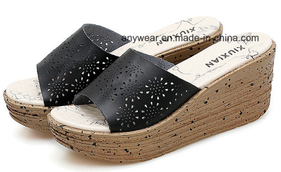 fa5745f45 Fashion Women Slippers Shoes Ladies Chunky Heels Sandal (973) pictures    photos