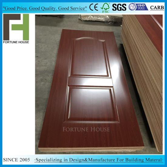 MDF HDF Interior Laminated Wooden Mould Melamine Door Skin  sc 1 st  Fortune House Building Material Limited & China MDF HDF Interior Laminated Wooden Mould Melamine Door Skin ...