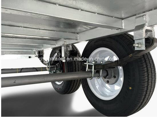 Heavy Duty Galvanized 8X5 Tandem Trailer pictures & photos