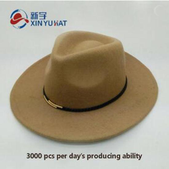 Custom Women Wide Brim Wool Felt Hat