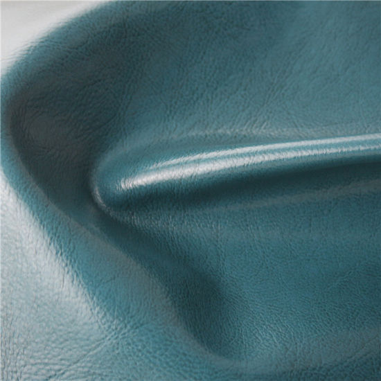 Environmental Protection Solvent-Free PU Artificial Leather for Internet Cafe Chairs pictures & photos