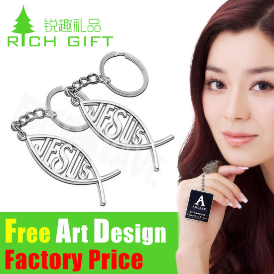 Factory Direct Sale Customed Dubai Code Metal Keychain / Key Chain pictures & photos