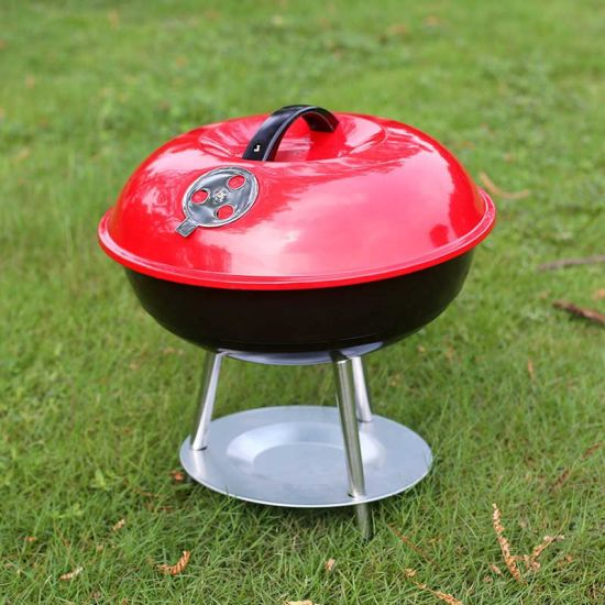 14inch Kettle BBQ Grill with Ce Approved (SP-CGT07) pictures & photos