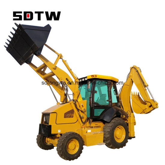 Jcb 3cx Towable Backhoe Loader Sold in China