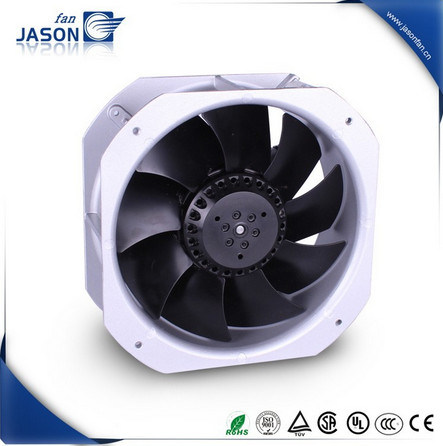 AC Industrial Cooling Exhaust 225mm 225mm 80mm IP55 Metal Blade Compact Axail Fan pictures & photos