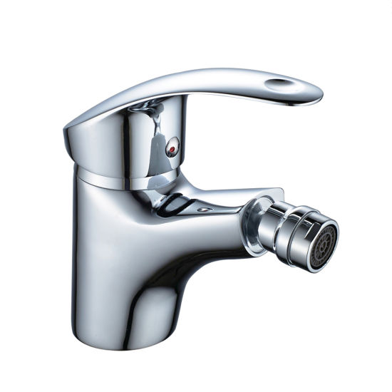 China Faucet Factory Deck Mounted Modern Fashion SPA Zinc Alloy Health Bathroom Basin Bidet Faucet Mixer pictures & photos