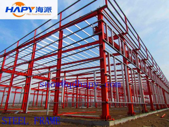 Prefabricated Workshop with Modern Design and Efficient Installation pictures & photos