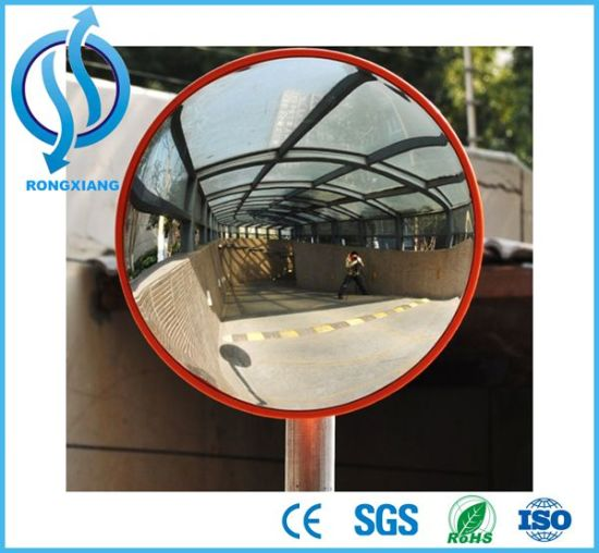 Unbreakable Outdoor Round Traffic Safety Acrylic Convex Mirror pictures & photos