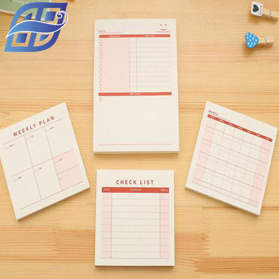 china sticky note pad with calendar china memo pad sticky notes