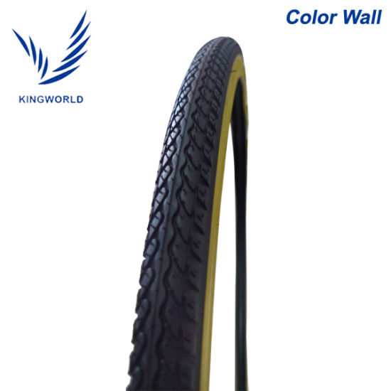 26*2.125 Yellow Color Wall Bicycle Tire