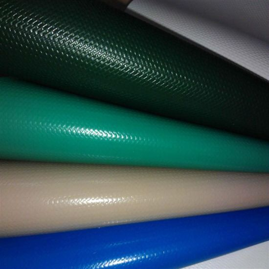 High Quality PVC Coated Tarpaulin Fabric in Roll