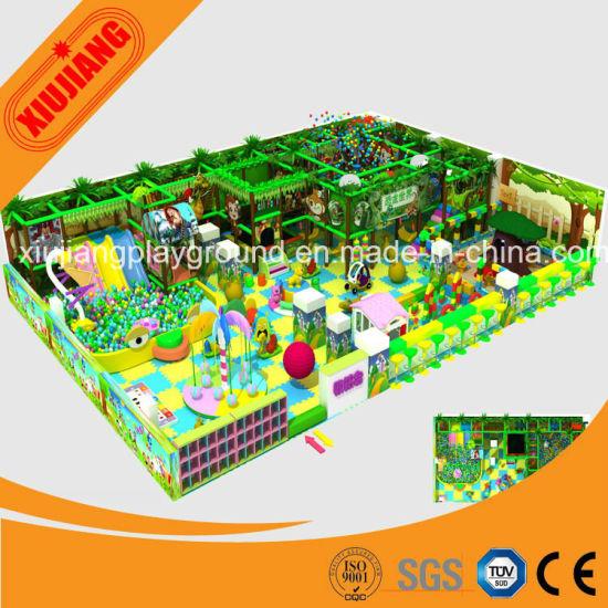 Children's Commercial Plastic Indoor Play Equipment for Sale
