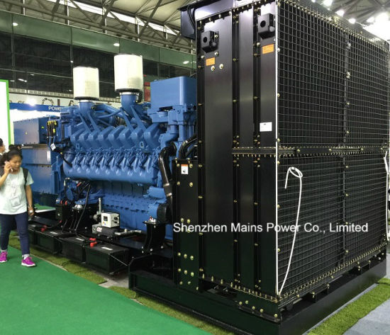 912kVA 730kw Mtu Diesel Generator Standby Power 1000kVA 800kw pictures & photos