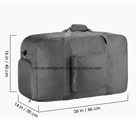 2018 OEM Duffle Weekend Foldable Travel Outdoor Football Basketball Gym Bag 2821f1c75835c