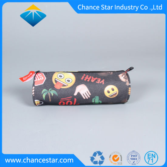 Custom New Style Round Non-Woven Zipper Bag