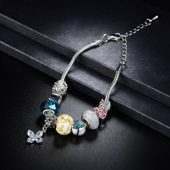 Pandore Bracelet for Woman DIY Charms Bead Bracelet pictures & photos