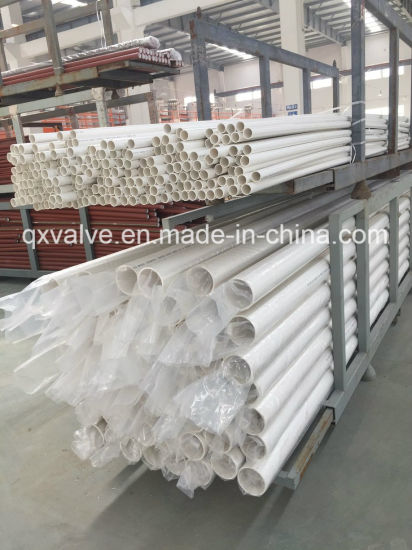 Sch40 ASTM Standard PVC Pipe for Water Supply or Drain Water with Kinds of Thickness pictures & photos