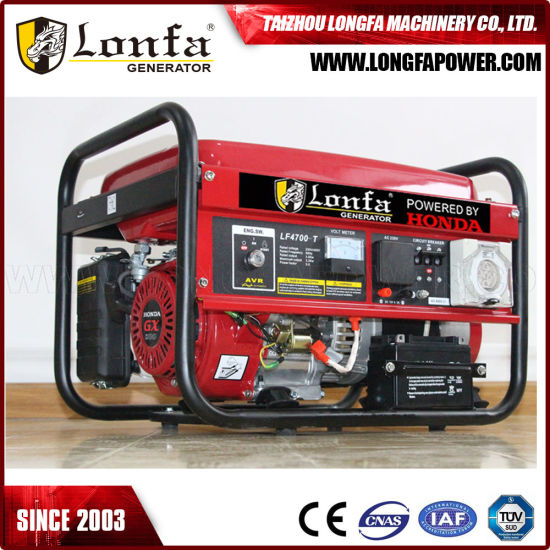 2.5kw 50Hz 380V Three Phase Original for Honda Gx200 Engine Powered Home Generator pictures & photos