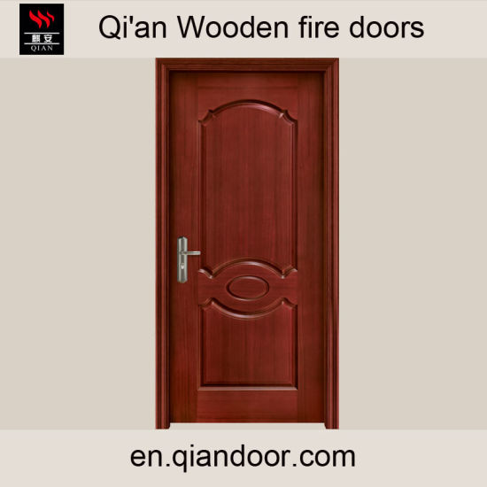 Wooden Fire Door Fire-Rated Door Fireproof Door pictures & photos