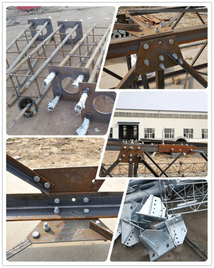 4 Legs Self Supporting Angle Steel Communicaiton Tower pictures & photos