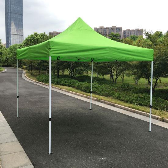 3X3m Lime Green Outdoor Steel Pop up Gazebo Folding Tent & China 3X3m Lime Green Outdoor Steel Pop up Gazebo Folding Tent ...