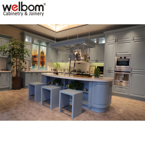 China Welbom Classical Luxury Modular Kitchen Design China Modular