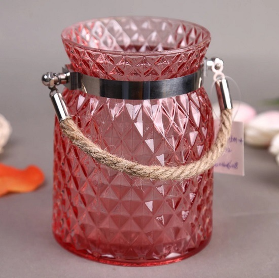 Hot Sell Spray Color Portable Candlestick/ Candle Holders for Home Decoration