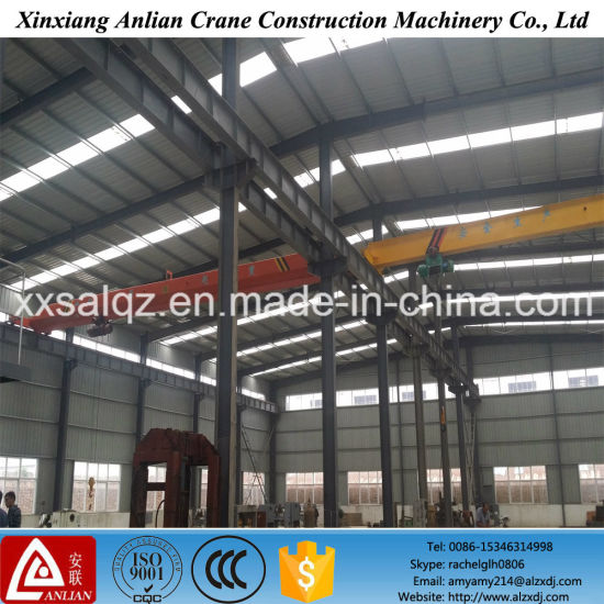 Workshop Crane 5t Single Girder Electric Hoist Overhead Crane pictures & photos