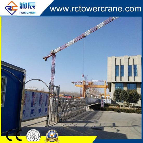 56m Boom Length Topless Tower Crane with 1.0t Tip Load