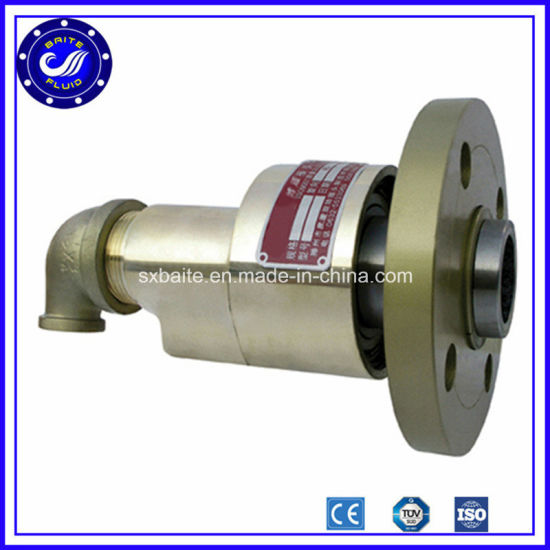 [Hot Item] Elbow Hydraulic Rotary Joint Union for Flange Fluid Power