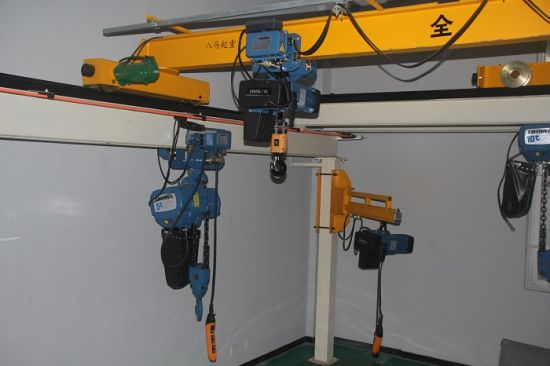 3m/M6 250kg European Electric Chain Hoist with Electric Trolley pictures & photos