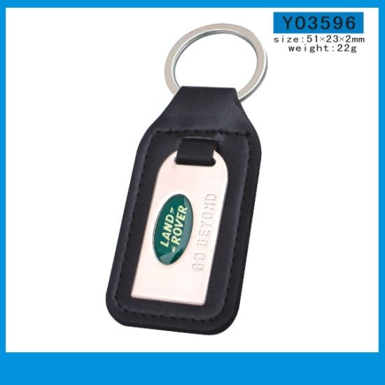 Wholesale Promotion All Car Brand Leather Keychain with Custom Logo pictures & photos