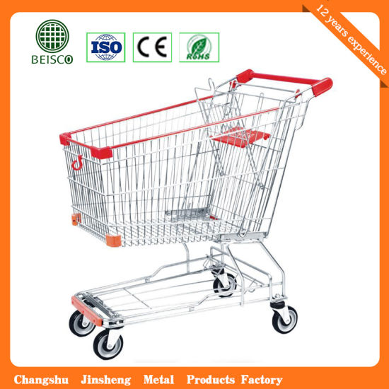 Best Price Metal Shopping Trolley Cart (JS-TAS01) pictures & photos
