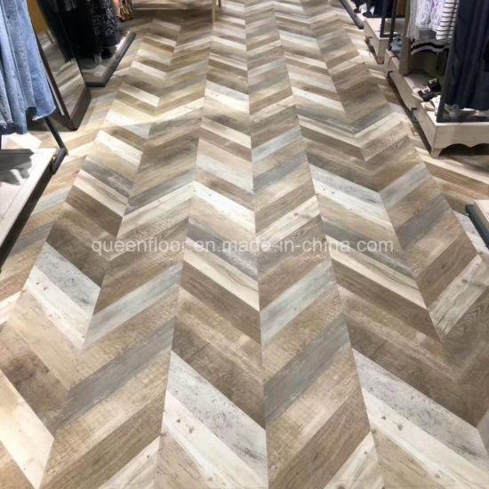 12mm Thickness AC4 Parquet Herringbone Building Material Laminate Flooring