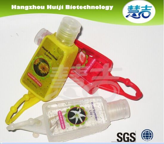 30ml Waterless Hand Sanitizer with Silicon Holder pictures & photos