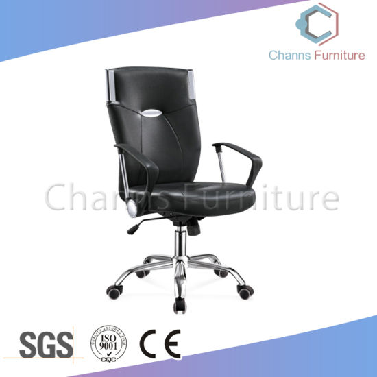 Modern Mesh Fabric Office Furniture Staff Computer Chair With Swivel Base  Casters