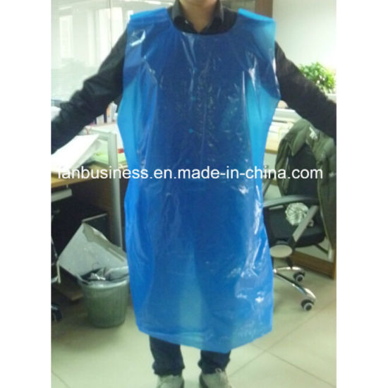 New Design Disposable PE Apron Homeuse
