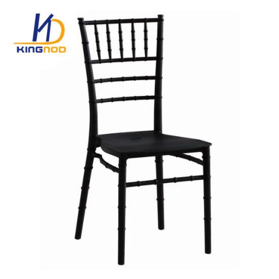 Cheap Stacking Plastic Hotel Restaurant Banquet Wedding Tiffany Chiavari Chair