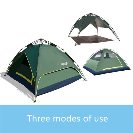 C&ing Tent Waterproof Windproof Outdoor Hiking 3 Person Automatic Instant Pop up Tent  sc 1 st  Beijing Unistrengh International Trade Co. Ltd. & China Camping Tent Waterproof Windproof Outdoor Hiking 3 Person ...