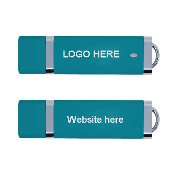 Wholesale Plastic USB2.0 USB Flash Drive4GB 8GB Pen Drive USB Stick (TF-0369)