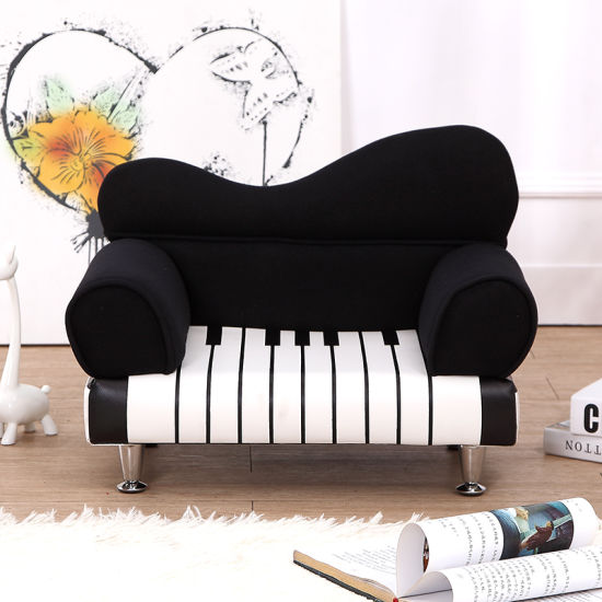 Luxury Home Kids Fabric Double Sofa Children Furniture (SXBB-226-2) pictures & photos